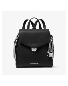 MICHAEL Michael Kors Bristol Small Leather Backpack Black