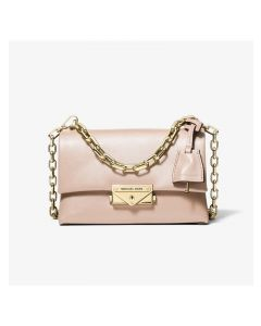 MICHAEL Michael Kors Cece Extra-Small Leather Crossbody Bag Pink