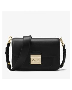MICHAEL Michael Kors Sloan Editor Leather Shoulder Bag Black