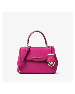 MICHAEL Michael Kors Ava Extra-Small Saffiano Leather Crossbody Rose