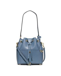 MICHAEL Michael Kors Greenwich Small Saffiano Leather Bucket Bag Sky Blue