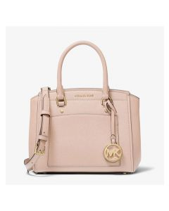 MICHAEL Michael Kors Park Medium Saffiano Leather Satchel Pink